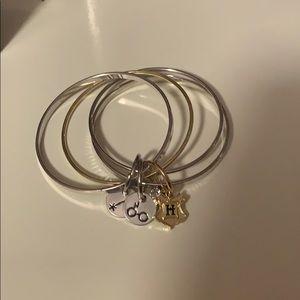 Harry Potter Alex and Ani bracelet set